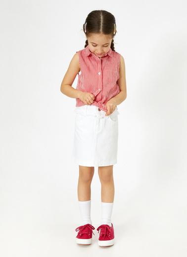 Koton Kids Kolsuz Gömlek Kırmızı